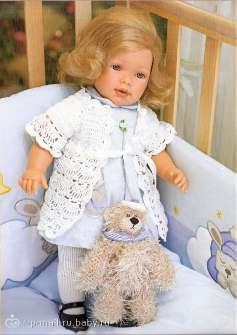 Вязание крючком для кукол беби бон