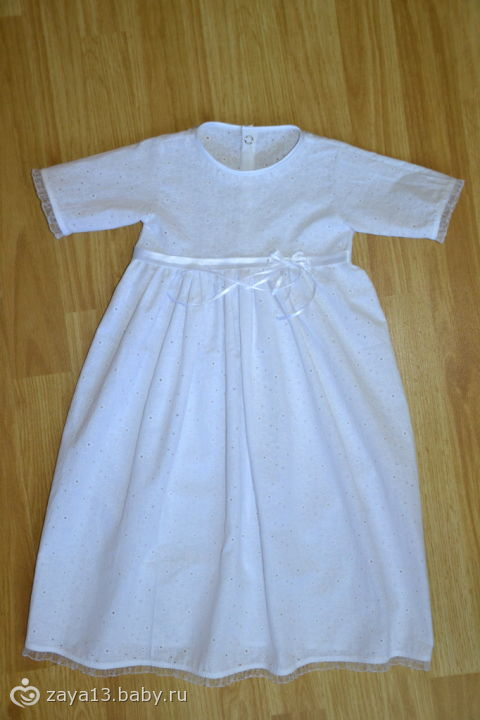 Платье на 6 месяцев сшить своими руками