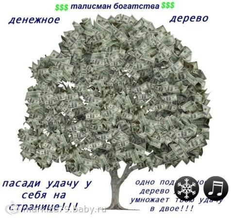 Поздравление с долларовым деревом
