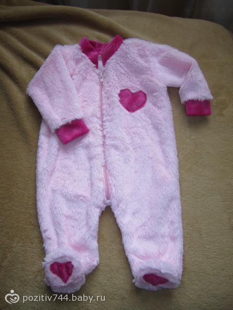Выкройка для новорожденных