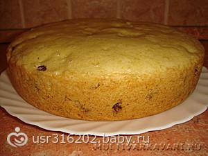 Простой рецепт кекса в мультиварке с фото