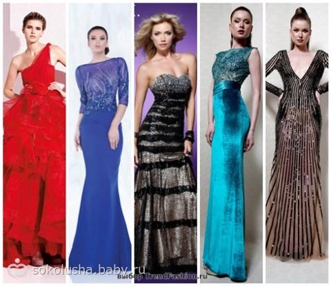 платья для полных Самые модные платья