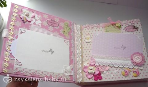 И открытки в стиле скрапбукинг