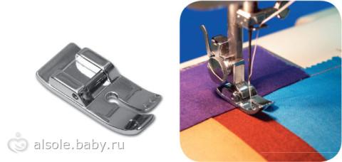 Виды лапок для шитья