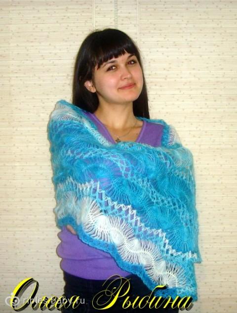 добавляю схема полосы шарф