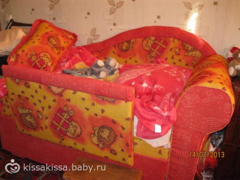 Детский диван Зайчик | Детские Диваны Для Девочек