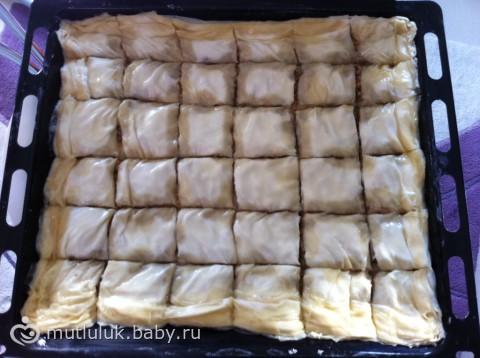 рецепт турецкой пахлавы с фото пошагово