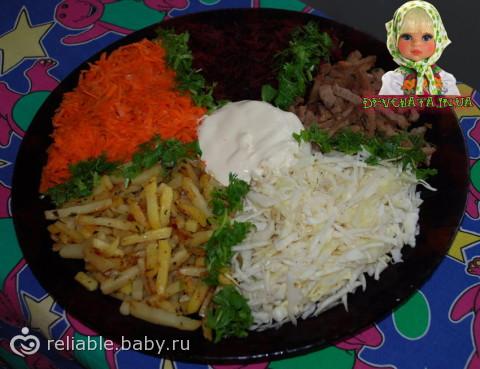 Чафан салат классический рецепт