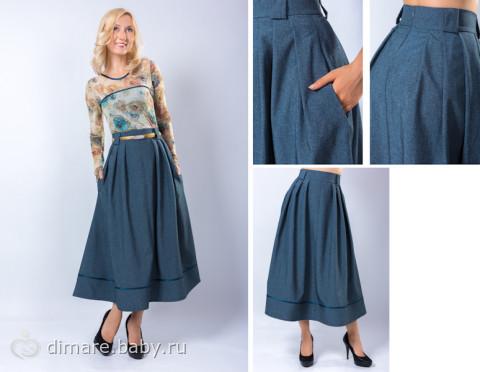 Что сшить из широкой юбки