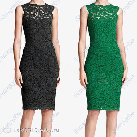 Фото зеленых кружевных платьев