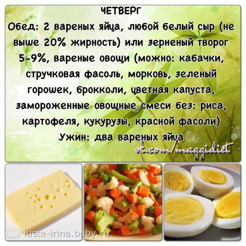 Эффективная диета на 1 месяц