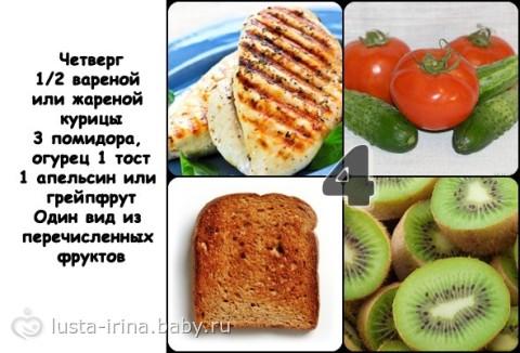 Яичная диета на 4 недели плюсы минусы и полное меню