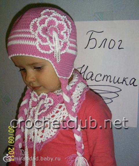 Вязаная летняя шапочка для девочки 2 лет скачать без регистрации