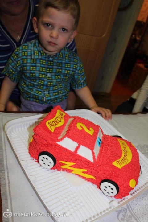 Торт мальчику на 2 года фото