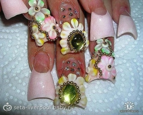 Фото самых страшных ногтей