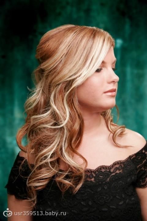 Прически на светлые волосы средней длинны