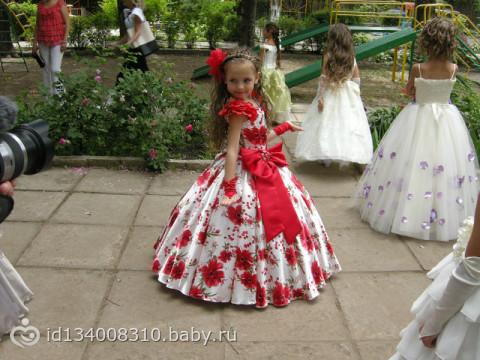 Фото платья ребенку на выпускной