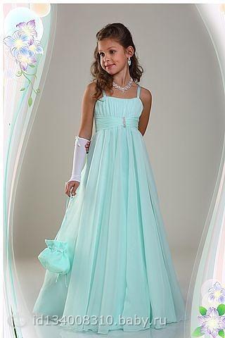 Сшить бальные платья для девочек