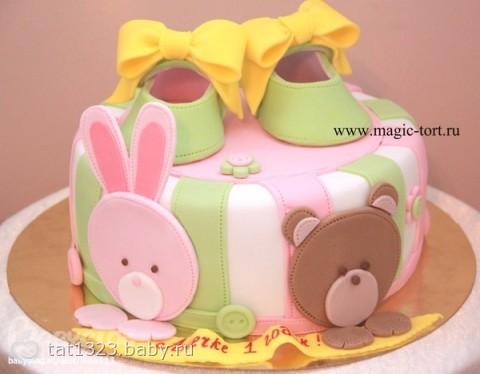 Тортик на 30 лет для девушки - c60