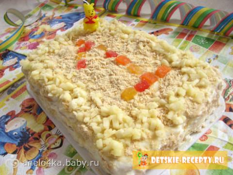 Торт на 1 годик своими руками рецепты