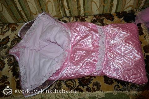 как сшить одеяло на выписку из роддома