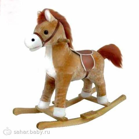 Нужна ли ребенку лошадка-качалка?, нравятся ли детям лошадки-ка ZA910