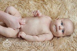 Пупочная грыжа у новорождённых