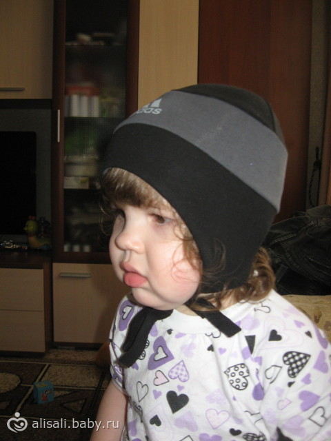шапочка трикотажная с выкройкой
