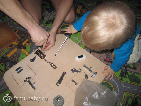 Игровые стенды для детей своими руками