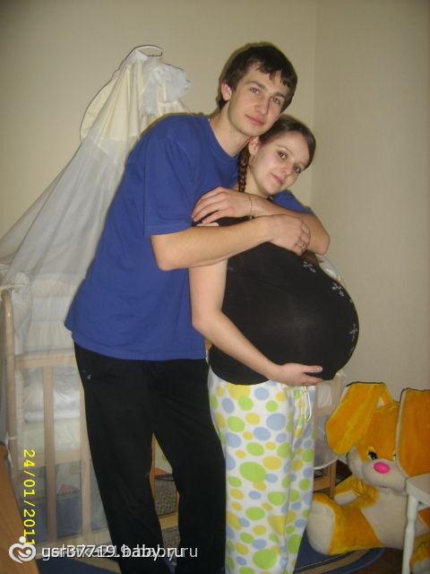 Самый при самый большой живот при беременности