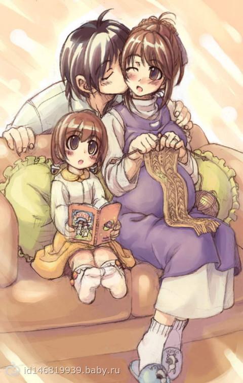 Беременные аниме девочки фото 147-614