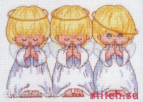 Отзывы о вышивке ангелочков 438