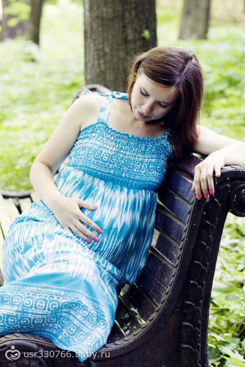В ожидании сынишки 34 недели (фотосессия)