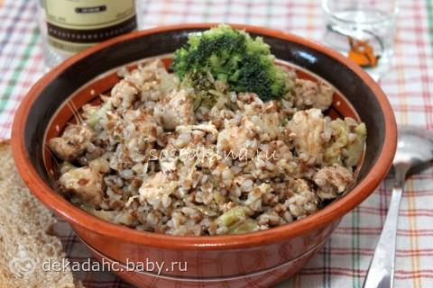 Гречка с квашеной капустой диета