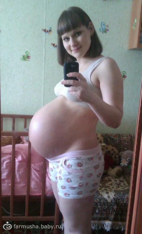 рассказ спустил в беременную