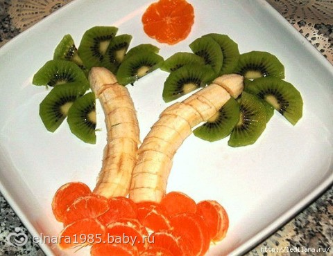 салаты украшение фруктовые фото
