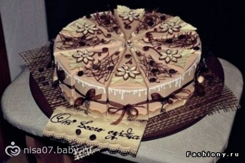 Подарки на 8 марта своими руками тортик