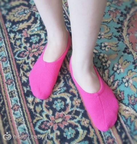 Тапочки носочки своими руками фото 750