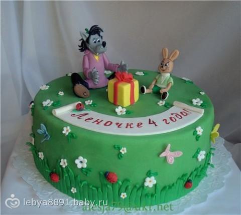 Торт ну погоди мастер класс фото