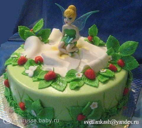 Торт в виде феи картинки