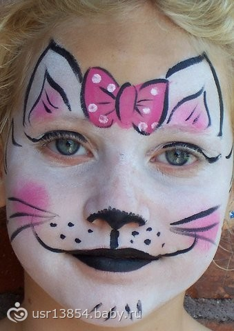 бодиарт на лице фото для детей