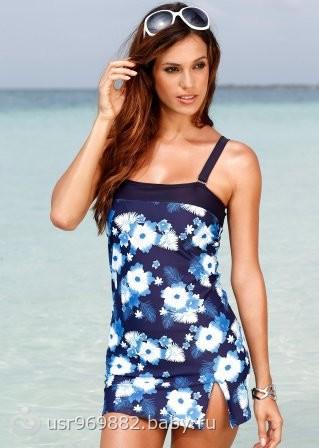 Купальник платье купальное платье