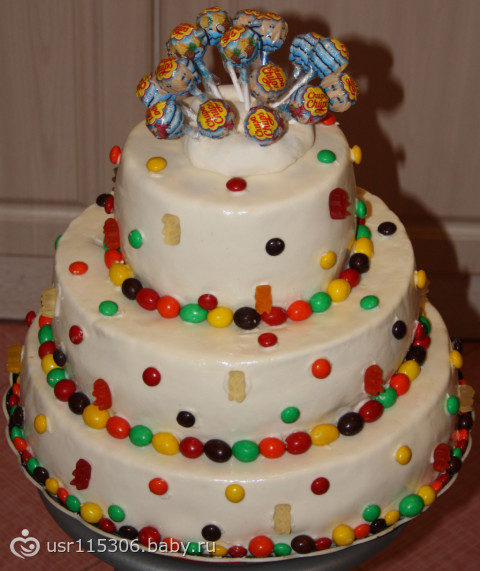 Каталог тортов для дня рождения для детей фото