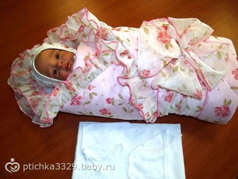 Комплекты на выписку для новорожденных фото