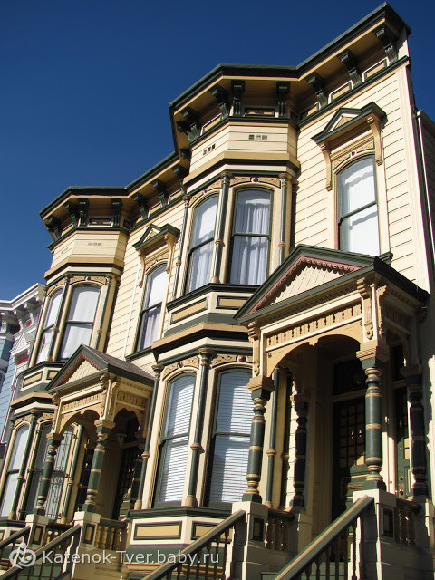 Дома викторианской эпохи