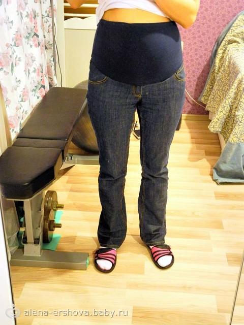 Как сшить из джинсов джинсы для беременных 374