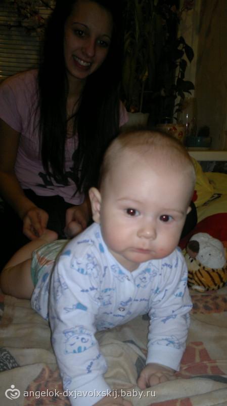 Мой сыночек от рожения и до сейчас:)