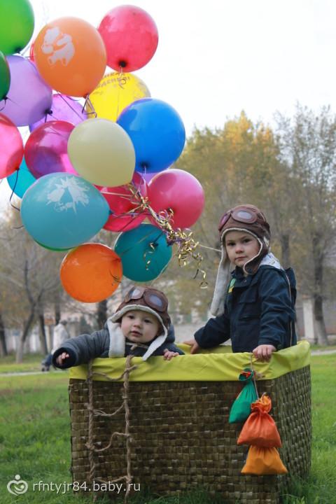 Воздушный шар и ребенок 96