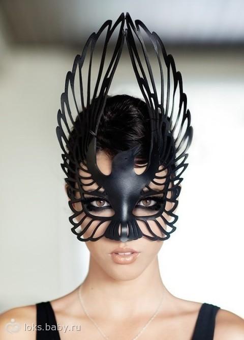 Удивительные маски… делюсь с Вами)) (из хомячьих идейных запасов)