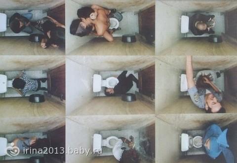 из жизни одной туалетной кабинки.